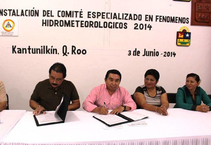 Los trabajos se desarrollaron en la sala de juntas del Ayuntamiento. (Raúl Balam/SIPSE)