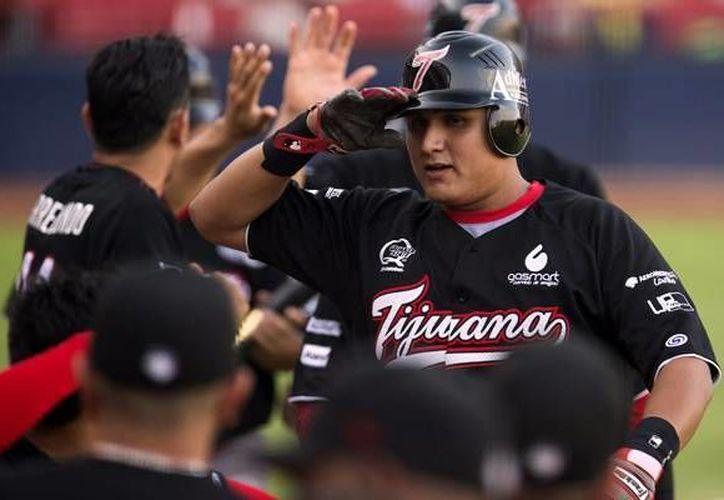 El catcher mexicano Arturo Rodríguez jugó muchos años con Sultanes de Monterrey antes de llegar a Toros de Tijuana (foto), pero ahora jugará con Marlins de Miami. (mediotiempo.com/Foto de archivo)