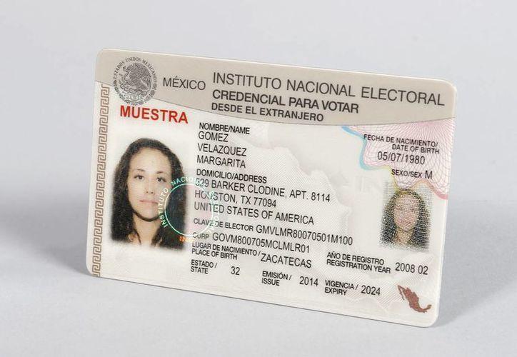 El consejero del INE recordó que para obtener la mica, nuestros connacionales deberán acreditar su nacionalidad. (Archivo/Notimex)