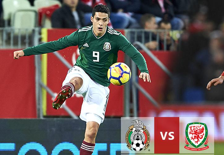 México jugó su penúltimo partido antes de viajar a Europa, el rival elegido fue Gales. (Contexto Internet)