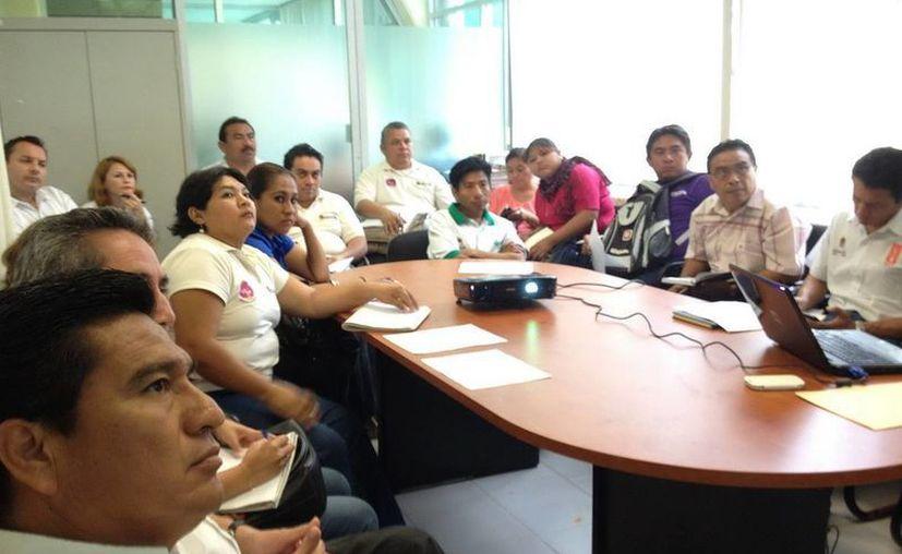 El IEEA llevó a cabo la reunión de sensibilización con supervisores y coordinadores de zona de educación inicial del Conafe. (Redacción/SIPSE)