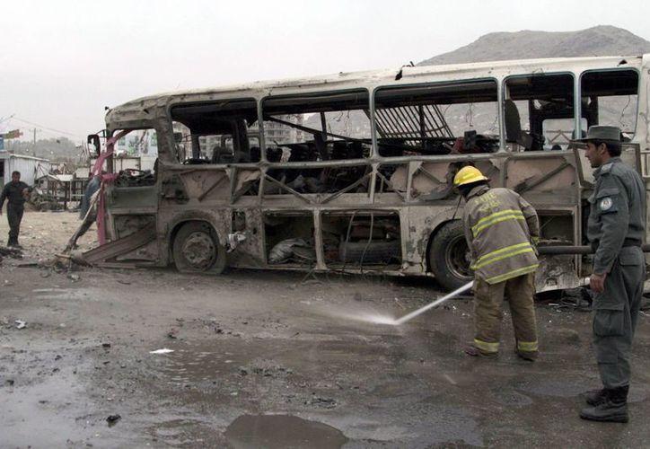 El conflicto en Afganistán se encuentra en un momento sangriento. (EFE)