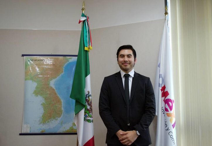 Luis Jiménez cursa el octavo semestre de Negocios Internacionales en la Universidad de las Américas en Puebla. (Milenio Novedades)