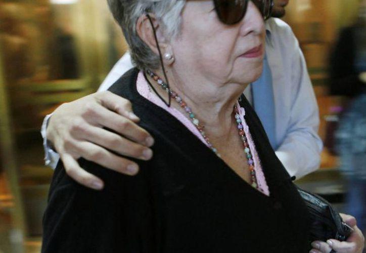 La fundadora de la organización humanitaria Abuelas de Plaza de Mayo, María Isabel Chorobik de Mariani. (EFE/Archivo)