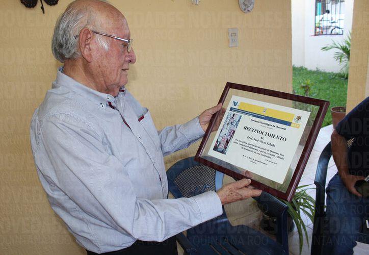 El creador del popular himno,  José Vivas Sabido, declaró que aún tiene varios proyectos por realizar. (Foto: Joel Zamora)