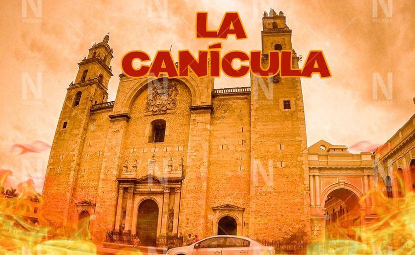 La canícula corresponde a los 40 días más calurosos de la temporada, e inician este viernes 12 de julio. (Novedades Yucatán)