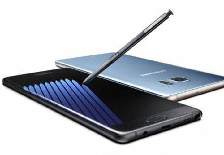El Galaxy Note 7 de Samsung cuenta con una memoria expandible, mayor duración de su batería, una pluma más inteligente, entre otras características. (elfinanciero.com.mx)