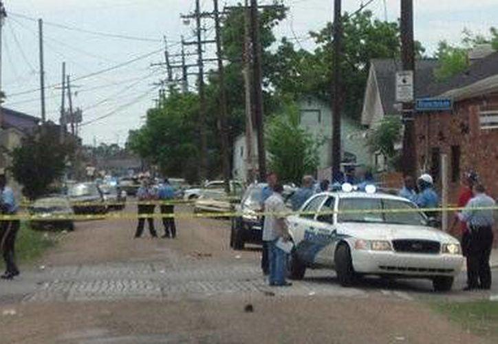 Nadie ha sido arrestado hasta ahora por la balacera en Nueva Orleáns. (wwltv)
