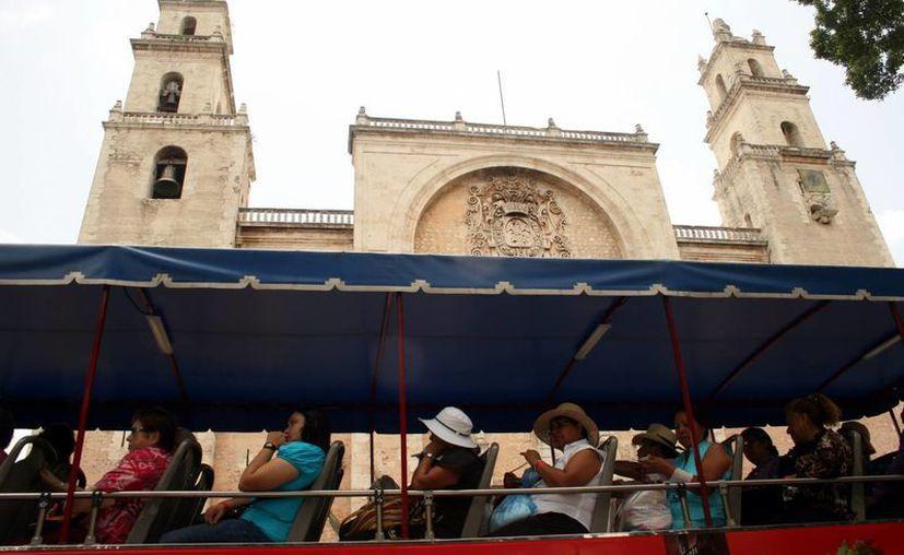 Paseo por las principales edificaciones de Mérida. (Milenio Novedades)