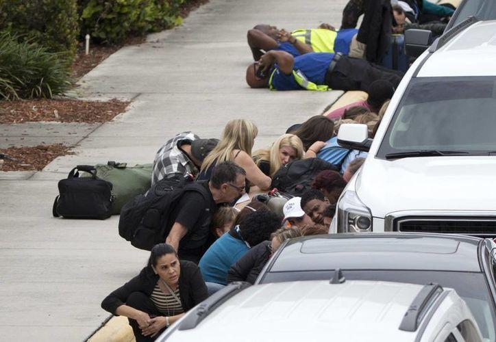 El causante de la psicosis en el Aeropuerto de Fort Lauderdale (Florida), Esteban Santiago, de 26 años, fue expulsado del Ejército debido a su bajo rendimiento. (AP/Wilfredo Lee)