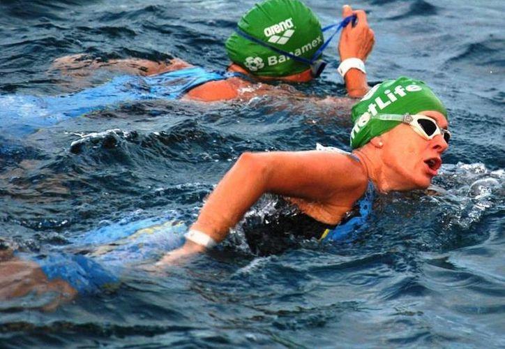 El Mundial de Aguas Abiertas admitirá participantes desde 11 años de edad.  (Rafael Acevedo/SIPSE)