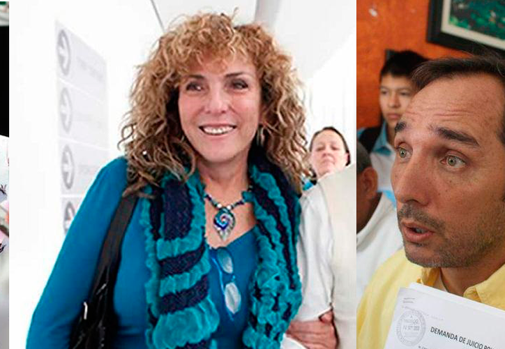 Los hermanos Laura, Luz María y Juan Carlos Beristáin, poseen más de una docena de propiedades en el norte de Q. Roo y en otros estados. (Redacción/SIPSE)