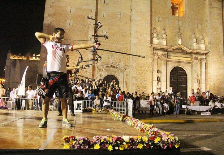 La final del torneo se llevó a cabo en la Plaza Grande. (Milenio Novedades)