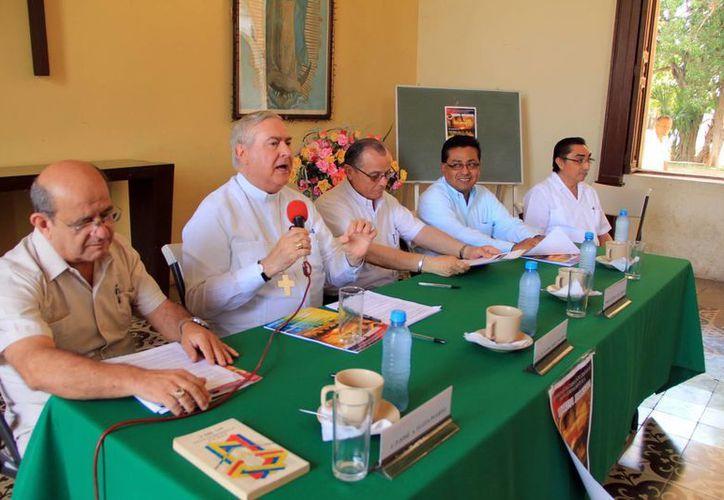 El Arzobispo de Yucatán dijo que la Ultreya Diocesana se realizará el 12 de este mes en Progreso. (José Acosta/SIPSE)