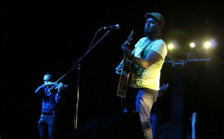 """El grupo lanzó su primer disco """"Mutual"""", en el evento de Playa del Carmen. (Foto: Octavio Martínez)"""