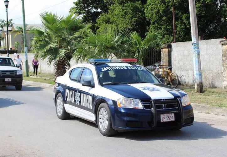 Tras una persecución elementos de la Policía Municipal, detuvieron a 'El Contador'. (Redacción/SIPSE)