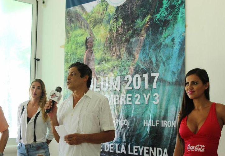 El triatlón Mayaman 2017 será el 2 y 3 de septiembre del próximo año. (Sara Cauich/SIPSE)