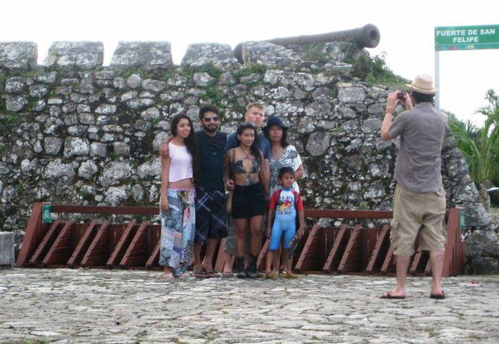 De cada 30 visitantes mexicanos, lo hace uno de otra nacionalidad. (Javier Ortiz/ SIPSE)