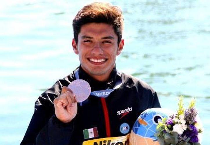 El mexicano Jonathan Paredes, medallista mundial de bronce en Barcelona 2013, encabezará el equipo tricolor. (Contexto/Internet)