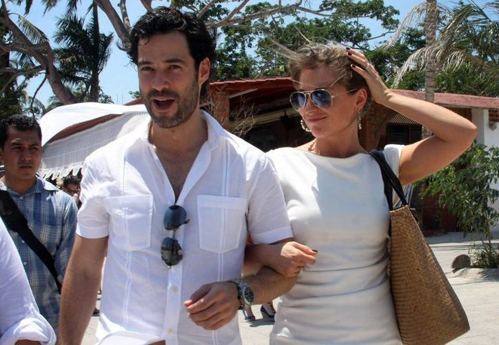 Emiliano Salinas y Ludwika Paleta contraerán matrimonio en un local de la capital yucateca. (Milenio Novedades)