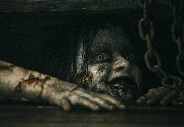 """""""Evil Dead"""" logró en su estreno la mayor recaudación, 26 mdd, según proyecciones de los estudios. (evildead-movie.com)"""