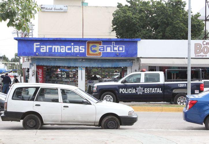 Los negocios que se vieron más afectados por la delincuencia fueron  farmacias, tiendas de conveniencia y minisúpers. (Foto: Redacción)