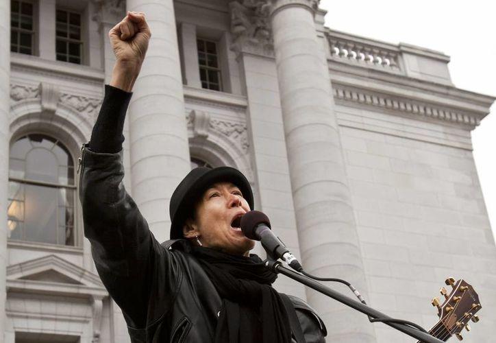 La cantante comenzó como activista liberal y hace algunos años se convirtió en cristiana. (Agencias)