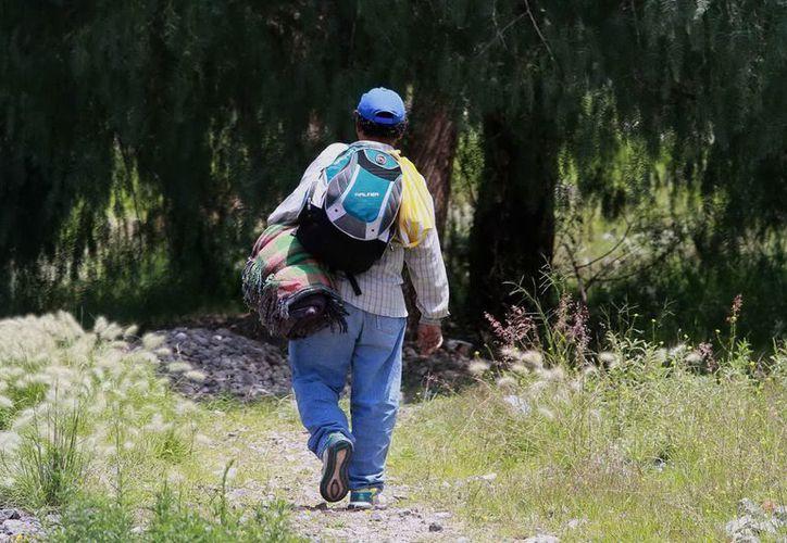 Algunos centroamericanos  optan por la repatriación voluntaria. (Archivo/Notimex)