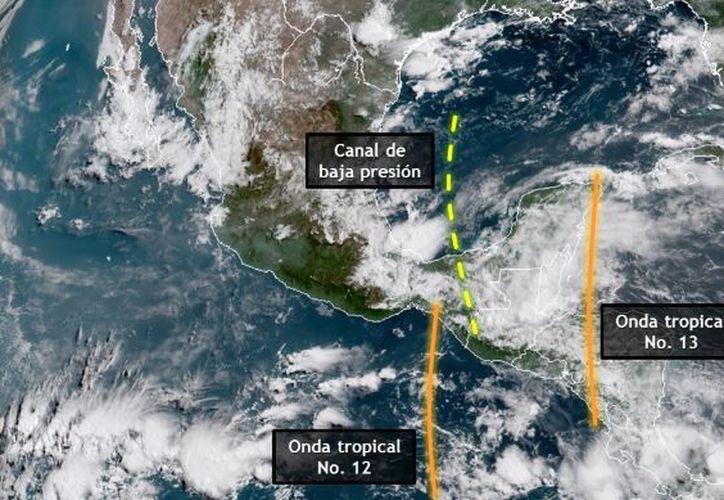 Los vientos serían del este de 15 a 25 km/h con rachas de hasta 45 km/h en la zona costera. (SMN)