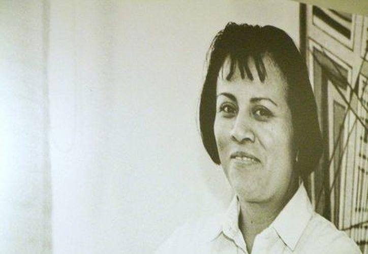Fotografía sin fecha de la activista mexicana Digna Ochoa, quien dedicó su vida a la defensa de los derechos humanos de los indígena. (EFE)