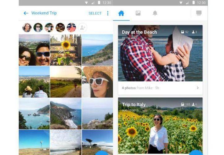 Facebook borrará algunas fotos de sus usuarios, a menos que éstos descarguen su app 'Moments'. (Excélsior.com)