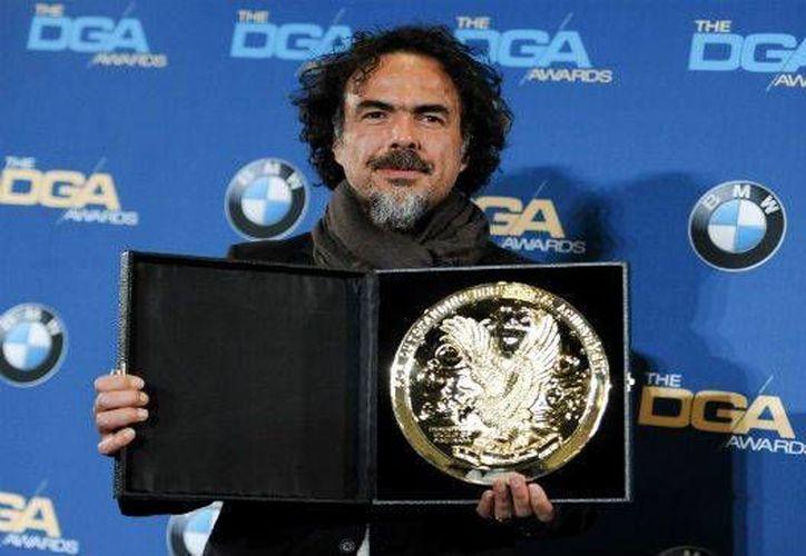 """El año pasado, González Iñárritu ganó el premio como mejor director de los DGA por la cinta """"Birdman"""". (Archivo AP)"""