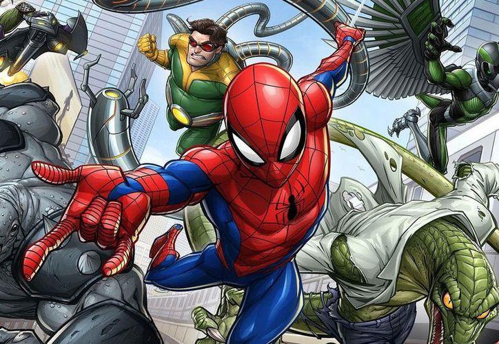 Disney Channel estrenará versión animada de spiderman, así como otras historias de superhéroes. (Contexto/Internet)