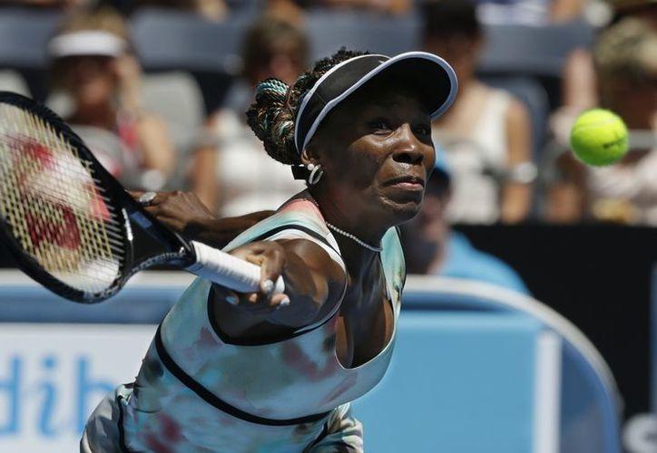 Williams y Sharapova podrían encontrarse en la tercera ronda. (Agencias)