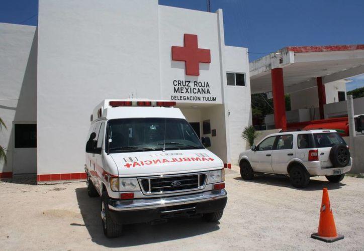 La Cruz Roja realiza estudios médicos para prevenir enfermedades en comunidades rurales cercanas a Tulum. (Sara Cauich/SIPSE )