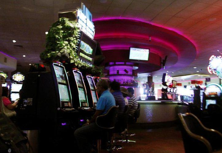 Contra lo que pudiera pensarse, en cuestión de juego la principal adicción de los yucatecos no son los casinos (foto) sino las máquinas tragamonedas en sitios públicos. (SIPSE)