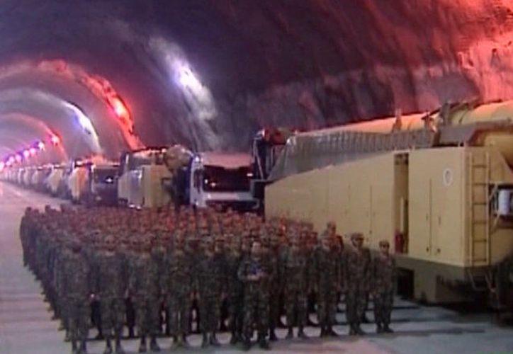 La tercera fábrica subterránea de Irán ha sido construida por la Guardia. (Contexto/Internet).