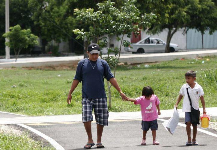 El Parque Lineal Metropolitano ofrece diversas actividades donde muchas familias asisten para pasarla en familia. (Milenio Novedades)