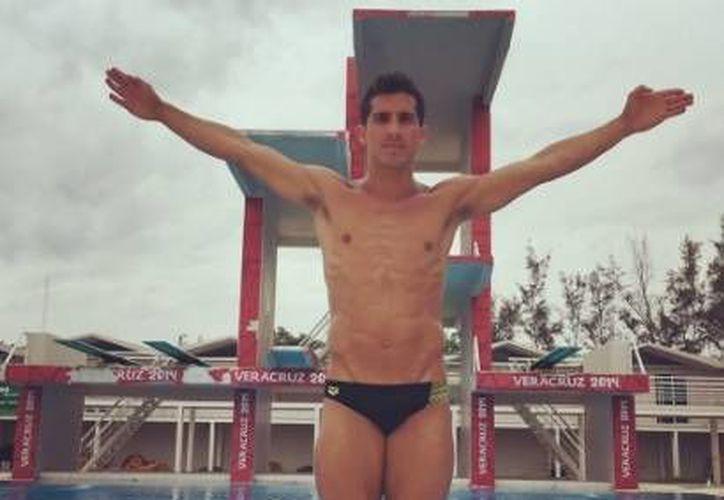 Rommel Pacheco ha afirmado que en su mente está lograr la medalla de oro para México. (Twitter: @Rommel_Pacheco )