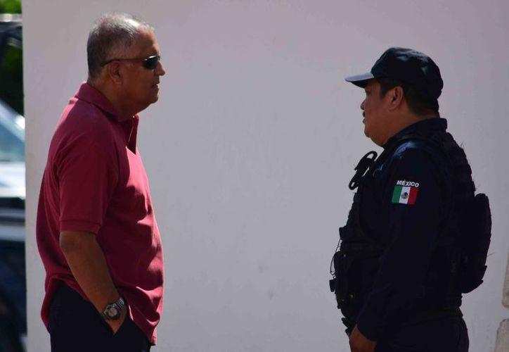 El director de Seguridad Pública y la alcaldesa Perla Tun no están obligados a presentar ellos el Plan de Prevención del Delito. (Gustavo Villegas/ SIPSE)
