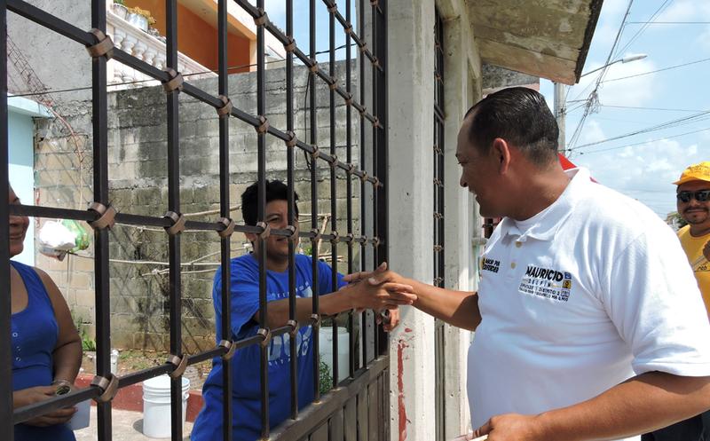"""Mauricio Delfín de la coalición """"Orden y Desarrollo por Quintana Roo"""", estipuló que no caerá en las manos de los políticos corruptos. (Redacción/SIPSE)"""