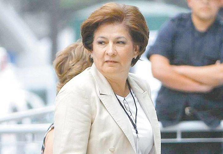 Isabel Miranda de Wallace, afirma que el peor de los delincuentes tiene a salvo sus derechos humanos. (Milenio)