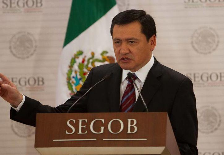Osorio Chong manifestó su respeto por las manifestaciones de los maestros. (Notimex)