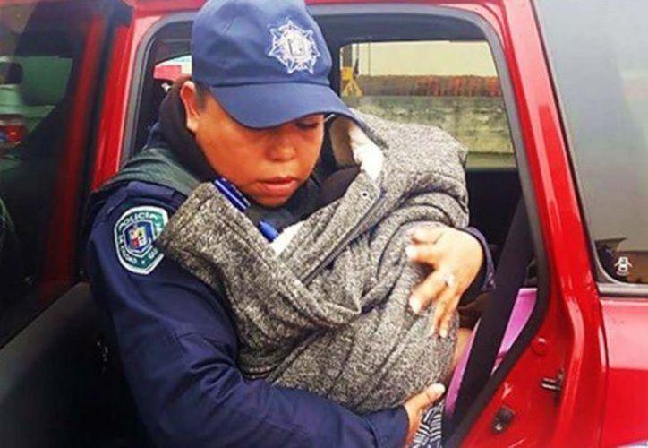 Policías brindaron atención a la madre en el alumbramiento. (excelsior.com)