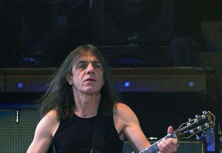 Malcolm Young ha formado parte de AC/DC durante casi 40 años. (nydailynews.com)