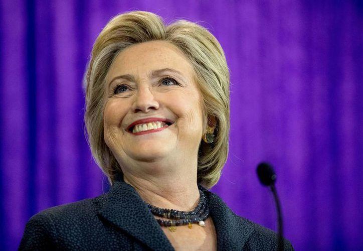 A principios de septiembre, Hillary Clinton rechazó la invitación del presidente Enrique Peña Nieto, debido a que tenía que centrarse en su campaña en EU. (AP/Andrew Harnik))