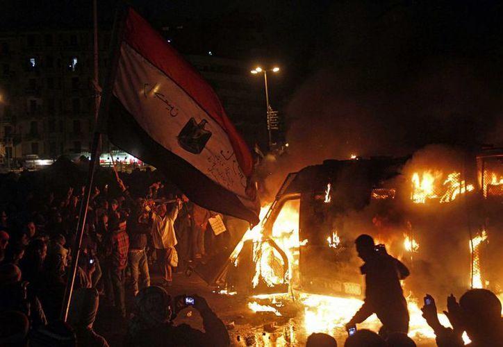Hay tres ciudades egipcias en estado de emergencia. (Agencias)