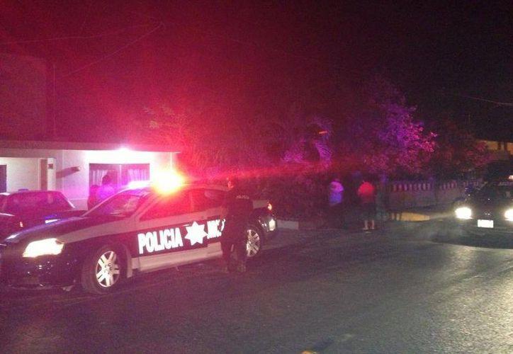 La policía municipal tuvo un fin de semana ajetreado. (Lanrry Parra/SIPSE)