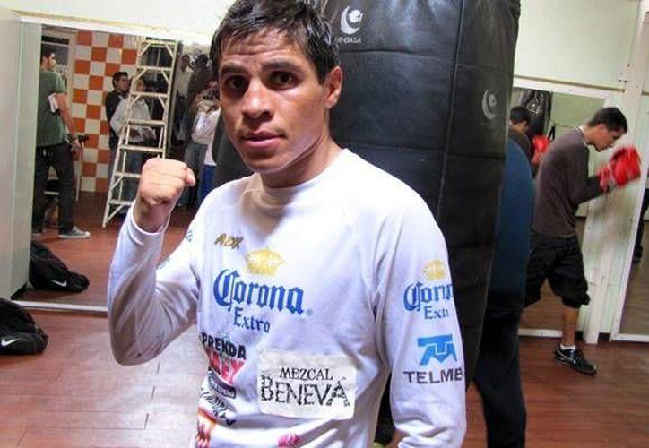 Édgar Sosa regresa a los cuadriláteros, después de nueve meses sin boxear de manera profesional. La última pelea de Sosa tuvo un resultado adverso, al ser noqueado por Román González.(Notimex)