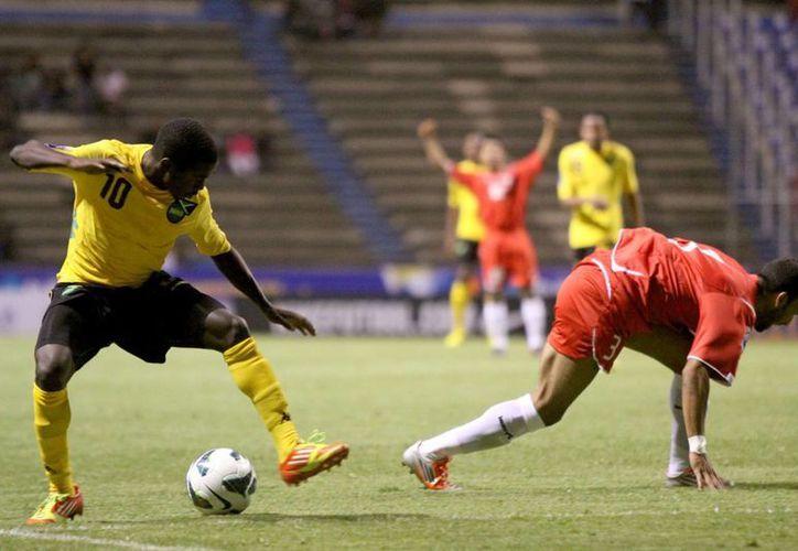 La Selección Sub 20 de Jamaica llega a cuartos de final tras vencer a su similar de Puerto Rico, y caer ante Panamá. (Archivo Notimex)